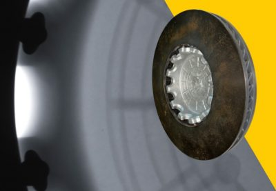 5 Product select button brake disc
