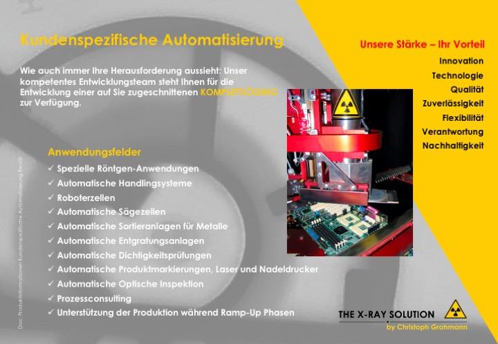 Kundenspezifische Automatisierung | automatische optische Inspektion